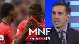 Gary Neville FUMING over Pogba & Rashford penalty situation | MNF
