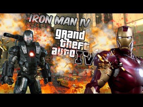 GTA IV Mod Épico - Iron Man IV