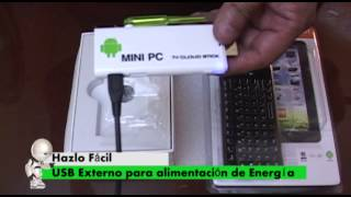 ¿Qué es y como Funciona un mini PC Android?