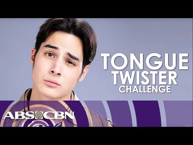 Tanner Mata takes on Tongue Twister Challenge!