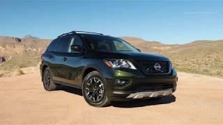 Новый японский внедорожник Nissan Pathfinder Rock Creek Edition
