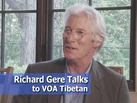 Richard Gere talks to VOA Tibetan ( English )