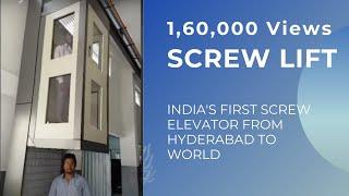 Small Residential Home Lift | 2 Passenger Elevator | Italian Technology Indian make | Cube Elevators
