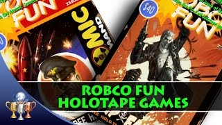 Fallout 4 Holotape Games & Robco Fun Comic Book Magazine Locations (Future Retro)