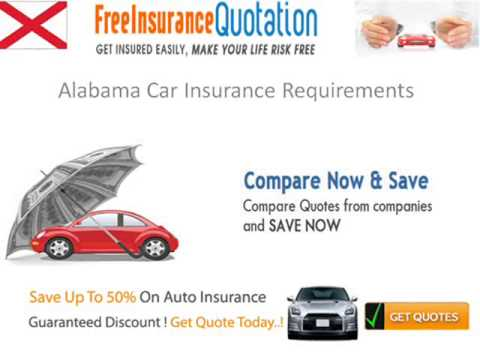 Alabama Auto Insurance Law