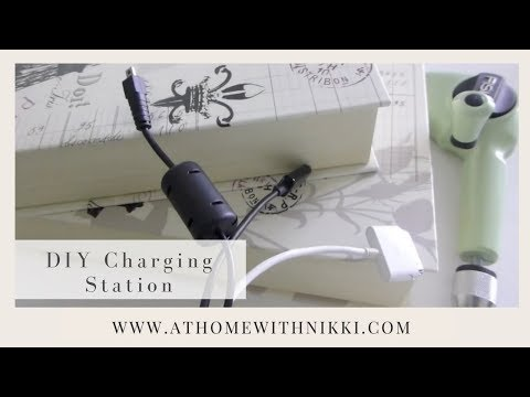 Diy How To Make Your Own Charging Station Youtube