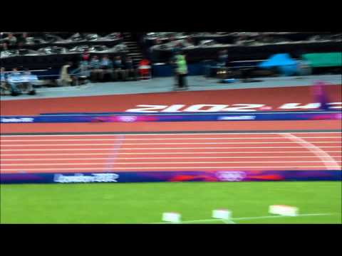 London Olympic Games 2012 - Mens 400m Final - Kirani James of Grenada