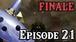 Zelda: Ocarina of Time - Part 21 - FINALE - The Battles Against The Two Forms of The Dark Lord