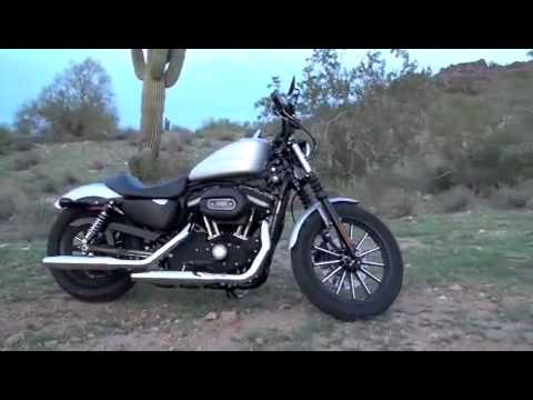 2009 Harley Davidson Sportster Iron 883 Video