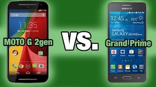 Comparativa Moto G 2gen VS. Galaxy Grand Prime
