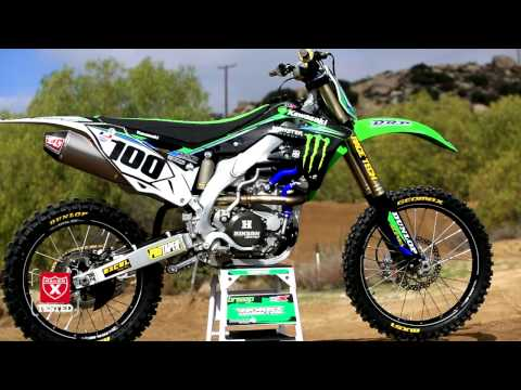 Testing the 2013 Kawasaki KX450F