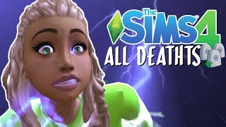 Sims 4 | ALL DEATHS AND GHOSTS (2018)