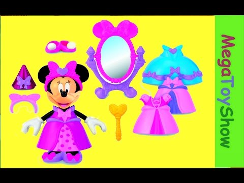 Mickey Mouse Clubhouse Minnie Mouse Princess Bowtique Dress up Toy [Disney Junio