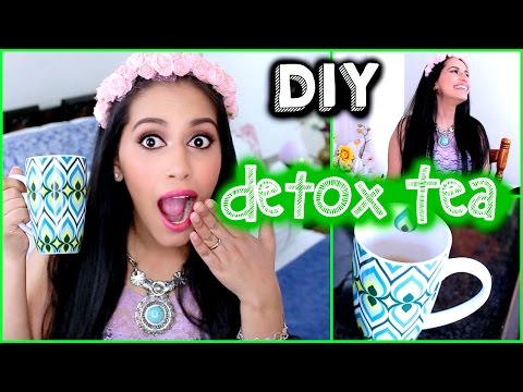 DIY DETOX TEA/Water for Weight Loss,Clear Skin,Flat Stomach SECRET (Natural Fitness) Himani Wright