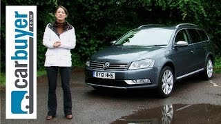 Volkswagen Passat Alltrack estate review - CarBuyer