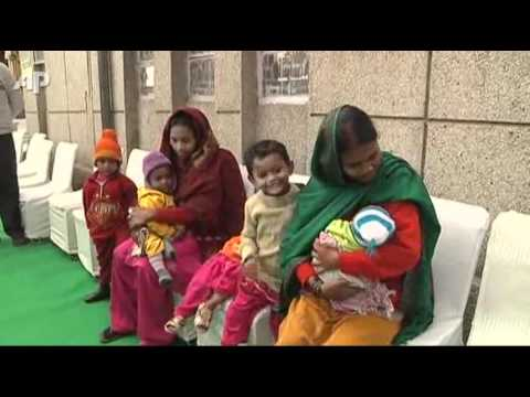 Raw Video: India Marks 1 Year Since Polio Found