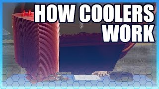 TLDR: How Heatpipes & Air Coolers Work (w/ animation)