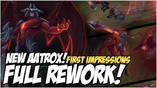 AATROX! FULL REWORK, JUGGERNAUT TIME | League of Legends