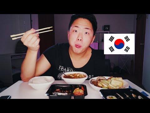 МУКБАНГ! КОРЕЙСКАЯ ЕДА | кимчи, твенджан ччигэ, корейские блинчики, жаренный арахис