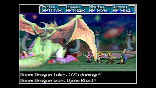 Golden Sun: The Lost Age - Doom Dragon (The Final Battle)