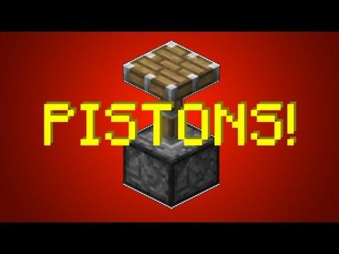 Minecraft 1.8: Best Piston Creations