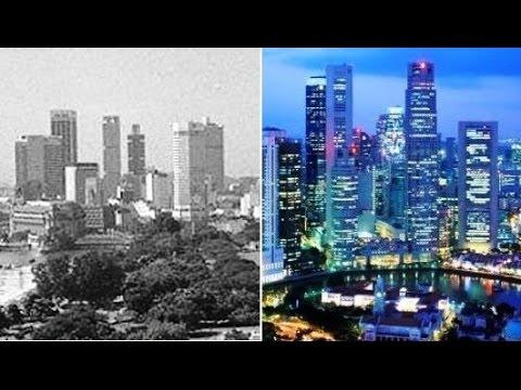 Как менялись города: ДО и ПОСЛЕ