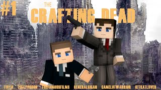 "Minecraft Crafting Dead: Episode 1 - ""THE DROP"" (Walking Dead Roleplay)"
