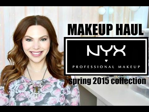 HUGE NYX HAUL ♡ NEW SPRING 2015 COLLECTION   BeautyBuzzHub