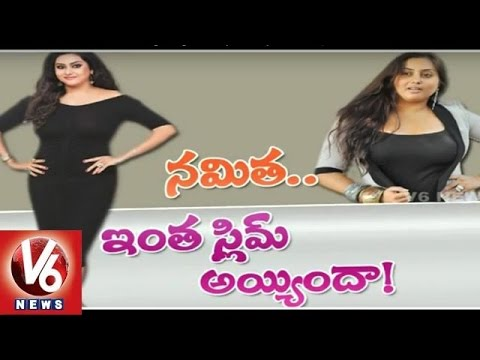 Namitha back to Films | Namitha losses 30 kgs Weight in one year | V6 News