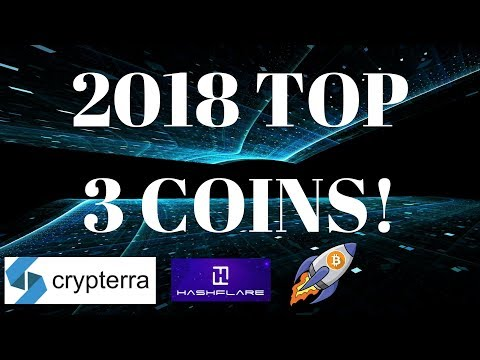 Crypterra Mining Profit Strategy & 2018 Top 3 Coin Picks