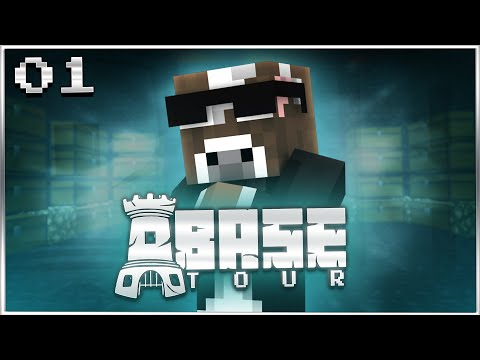 Minecraft FACTIONS Base Tour - BEST FORTRESS ON CYAN - Ep. 1 ( Base School )