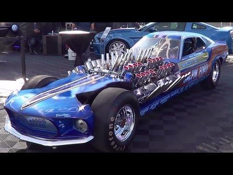 Mach IV All Wheel Drive 4 Motor Mustang SEMA 2013