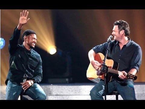 Blake Shelton Usher Duet Michael Buble Home Miranda
