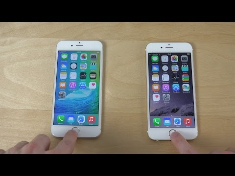 iPhone 6 iOS 9 Beta vs. iPhone 6 iOS 8.4 Beta 3 - Which Is Faster? (4K)