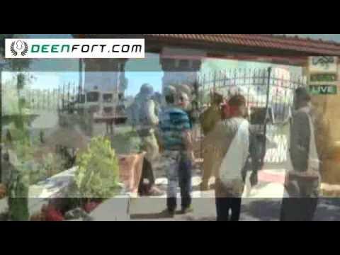 Israeli Army Kicked Out By Unarmed Brave Palestinians In Gaza - Allama Masood Alam Azhari video