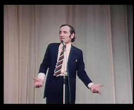 Thumbnail of video Charles AZNAVOUR - Emmenez-mio