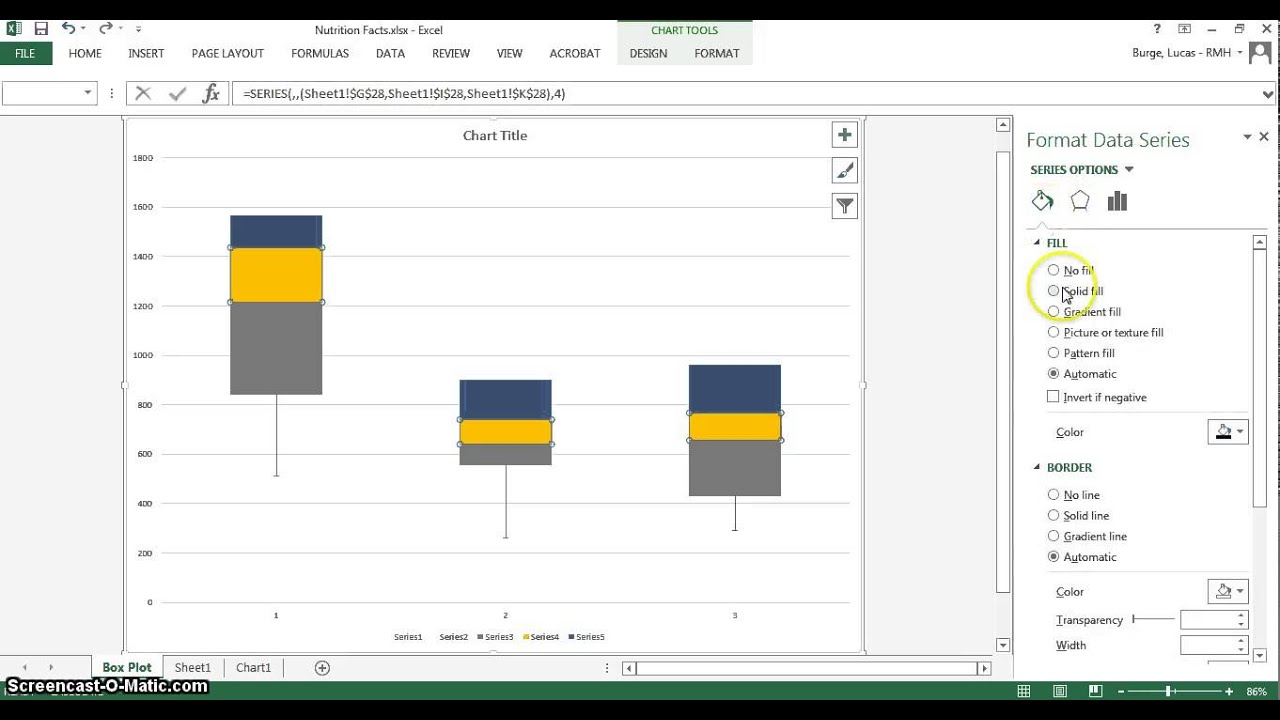Box And Whisker Plot Excel 2010 Template