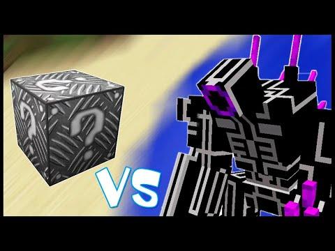 Металлический Лаки Блок VS Боевой Робот - Лаки Битва #27