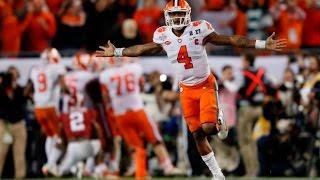 Deshaun Watson vs  Alabama: All 56 Passes