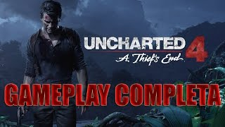 GAMEPLAY COMPLETA UNCHARTED 4 - HD - [01-07-2015]