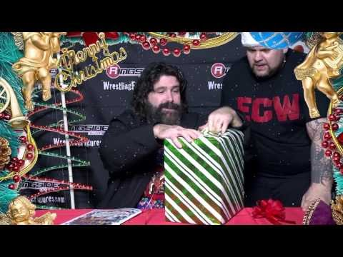 Merry Christmas & Happy Holidays from Ringside Collectibles w/Mick Foley & Surprise Guest!