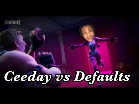 """When """"Ceeday"""" Encounters Default Skins...."""