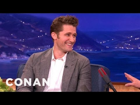 Matthew Morrison s First Kiss Was A Threesome - CONAN on TBS