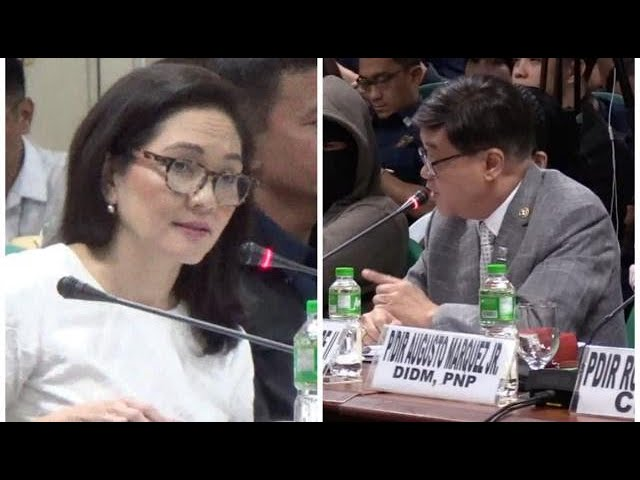 Aguirre, Hontiveros face off at Senate