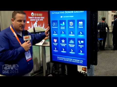 DSE 2015: TouchSystems Showcases Bezel-free NEC PCAP Touch Display Solution