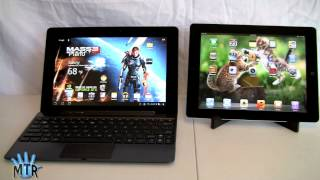 Apple New iPad vs. Asus Eee Pad Transformer Prime Tablet Comparison