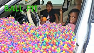 Johnny Johnny Yes Papa Turning Car Into A Ball Pit