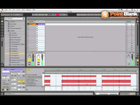 Ableton Live Tutorial - Arpeggiator Percussion Trick