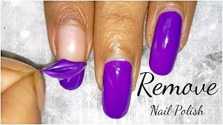 Remove Nail Polish Without Nail Polish Remover In 1 Second Only