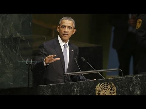 Obama Discusses Syrian Conflict in U.N. Address